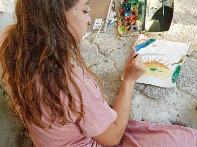 יצירה וציור